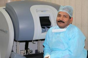 Dr R K Mishra - Robotic Surgeon and Trainer