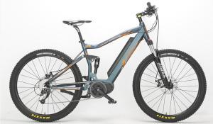 Dual Sport full suspension electric bike