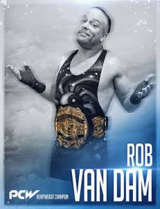 PCW Heavyweight Champion Rob Van Dam