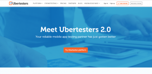 Ubertesters 2.0 page official