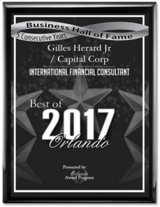 capital corp merchant banking, project financing, gilles herard, gilles herard jr, gilles herard award
