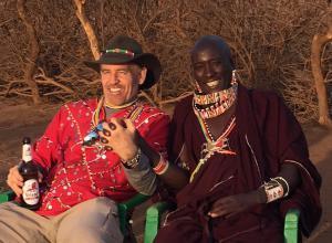 Dr. Warren Bruhl brings aid to Kenya