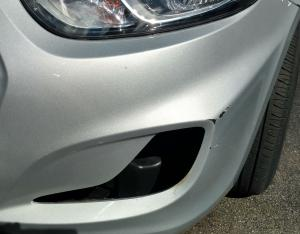 Preexisting damage; driving light missing means $$$ for renter