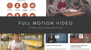 Full motion HD Video training courses