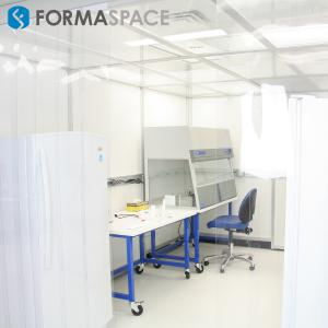 Plexon Clean Room with Fume hood
