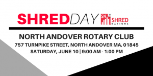 North Andover Shred Day