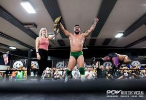 New PCW Light Heavyweight Champion - Douglas James