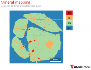 Elemental maps, depth profies, and quantitative results are easy with the new software.
