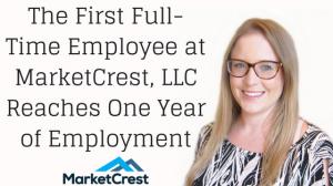 Rachel Thomas Marks One Year at MarketCrest Marketing Firm