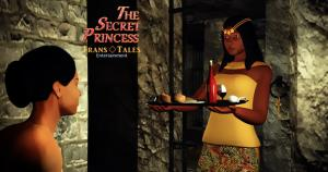 Princess Adaeze and Sade in The Secret Princess Animation