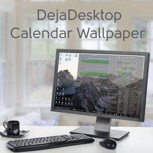 Calendar Wallpaper App