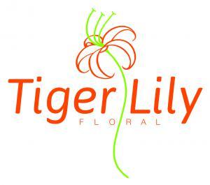 Tiger Lily Floral Logo