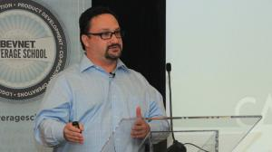 Beverage Industry Analyst William Sipper Speaks To An Industry Group