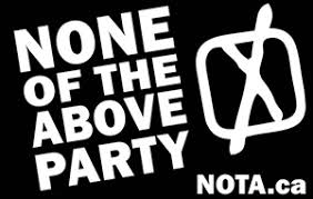 None of the Above Direct Democracy Party - logo