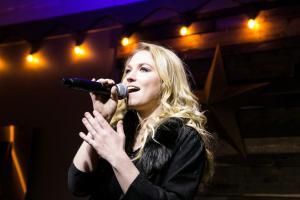 Megs McLean on Stage