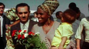 Miriam Makeba and her family