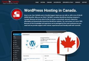 WordPress Hosting Canada
