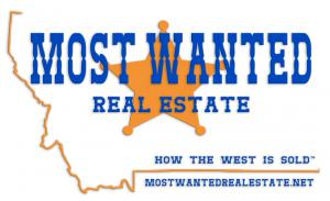 Most Wanted Real Estate logo.