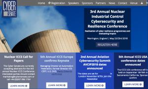3rd Annual Nuclear Industrial Control Cybersecurity and Resilience conference