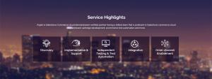Aspire Systems Digital Commerce Service highlights
