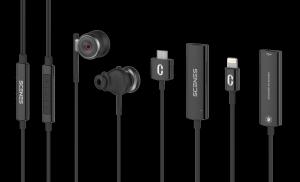 SCENES LIFELIKE VR Recording Earphone Accessories