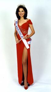 Susan was crowned Ms. America® 1997 at the Luxor Hotel in Las Vegas winning $75,000 in cash and prizes.