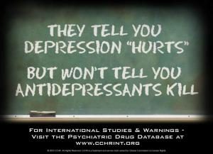 Antidepressants Kill
