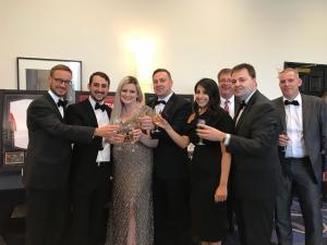 Boston Team Photo at Storage Awards 2018