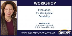 CONCEPT Professional Training Workshop on Workplace Disability Evaluation