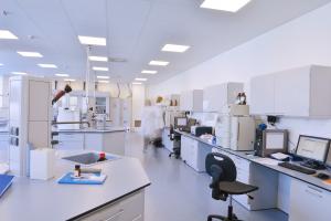 Laboratory with Phenolic Top