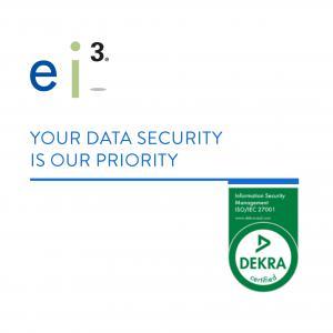 ei3 receives ISO 27000 Certificate of Compliance from DEKRA B.V.
