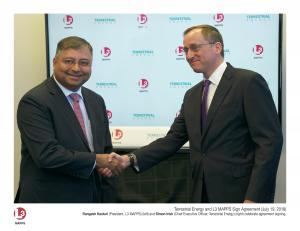 Terrestrial Energy and L3 MAPPS Sign Agreement (July 19, 2018)