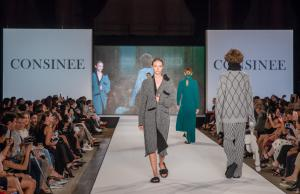 "Consinee ""Into the Lines"" fashion show"