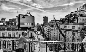 View from rooftop over Picadilly