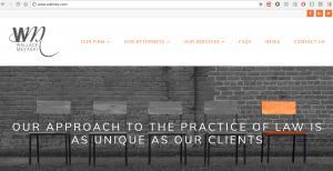 Website of Law Firm Wallace Meyaski, K. Todd Wallace