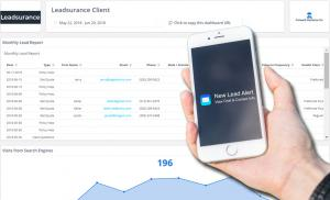 Real time notifications and cloud reporting solution