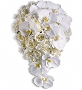 Picture of White Wedding Bouquet