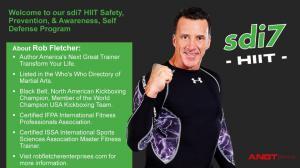 sdi7 HIIT Creator Self Defense and Fitness Expert Rob Fletcher