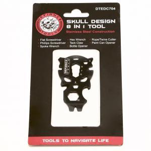 Defiance Tools Skull Design 8-in-1 Multi-Tool