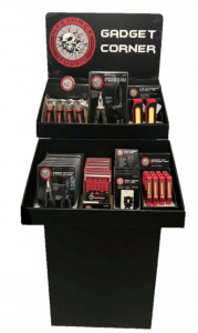 Defiance Tools Gadget Gift Corner Merchandiser for Increased Holiday Sales and Beyond