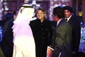 Abhimanyu Ghosh with global dignitaries