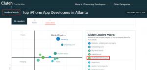 Top iPhone App Developers