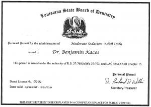 Licensed sedation dentist shreveport