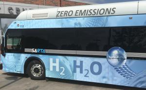 SARTA fuel cell bus