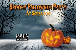 spooky halloween party
