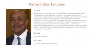 Profile of Michael J Riley, Sr
