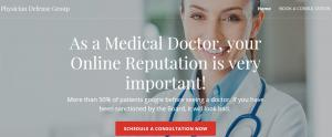 Website Physician Defense Group, Miami Beach FL