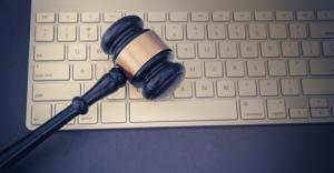 Law Firm Marketing Gavel & Keyboard