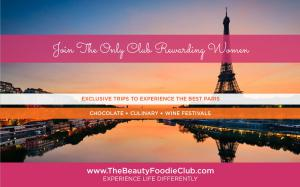 Join the Only Club Helping Fund 100 Beauty Foodie Paris Trips
