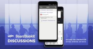 BoardBookit Discussions | Collaborate Securely